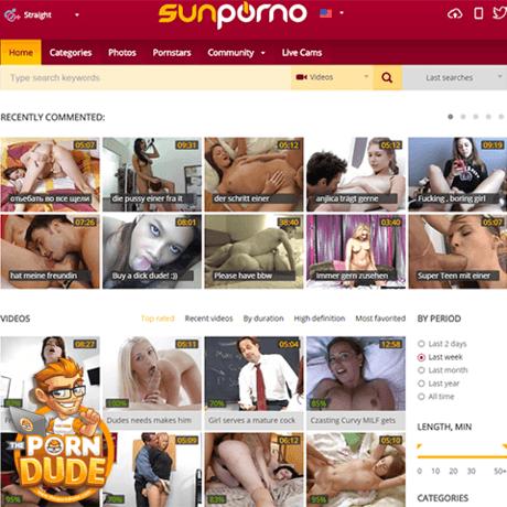 Sunporno categories free videos to choose